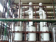 Combination of falling film and forced circulation Evaporator