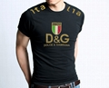 Good quality and cheap DG men t shirts Polo tshirts
