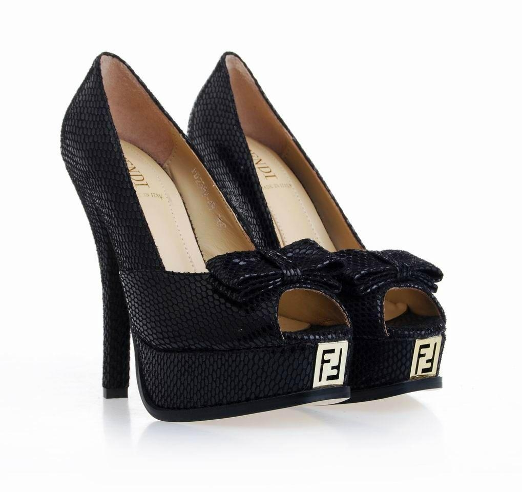 fendi high heel shoes hello lover