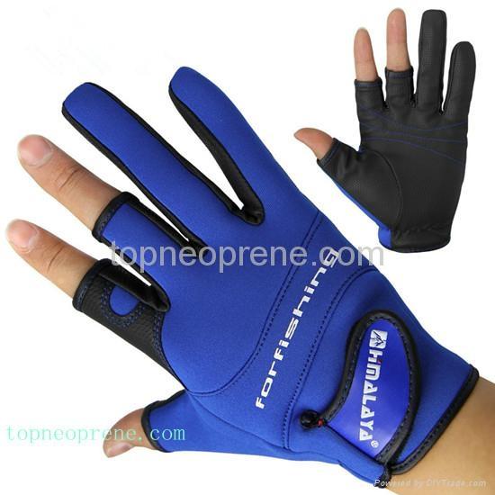 Sport In Gloves: Low Cut Neoprene Fishing Gloves Sport Glove