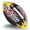neoprene American football soccer ball beach footy ball 1