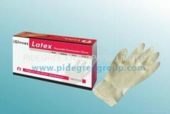 Latex gloves