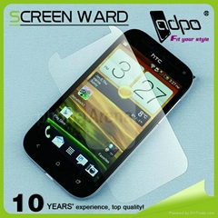 golden supplier of screen protector for HTC one