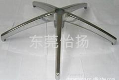 怡扬AL-K355 高端压铸铝合金五星脚