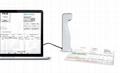 document camera for B5,5.0Mega CMOS, best visualizer for mobile office
