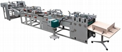 Semi-Automatic Type Paper Bag Tube Forming Machine