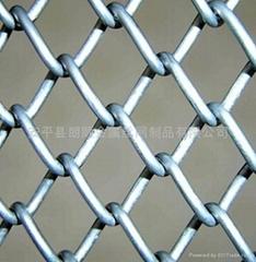 不锈钢编织勾花网