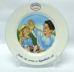 Porcelain hanging plate