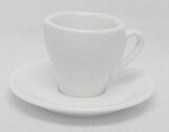 ceramic coffee cup saucer