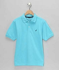Boy's Solid polo Shirt