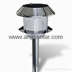 solar stainless steel light