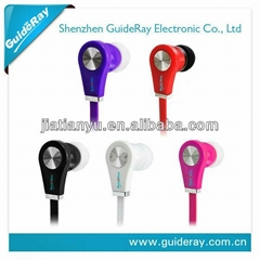 3.5mm plug children earphone for mobile phone/media player