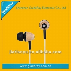 wired awei earphone for mobile phone/music player/laptops