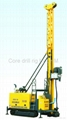 Full hydraulic core drill rig with 1500m drilling capacity