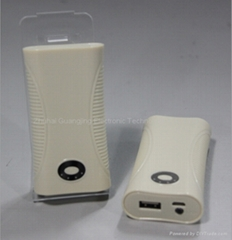 New high capacity mobile power bank charger 4400MAH