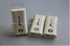 New high capacity mobile power bank charger 4800MAH