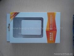 New high capacity mobile power bank charger6000MAH