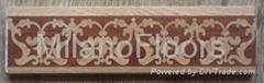 parquet flooring border