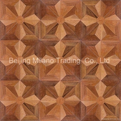 Art wood parquet flooring