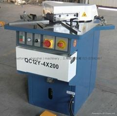 QF28Y4 200 Hydraulic corner notcher for aluminum plate sheet manufacture