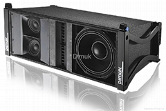 Dimuk compact 3way line  array speaker