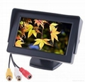 4.3 inch Digital TFT-LCD car monitor