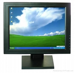 15 Inch Touch Screen LCD Monitor with AV