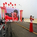 P10 outdoor full color LED display mobile rental 3