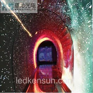 時光隧道室內全彩LED顯示屏 1