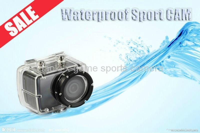 Gaoki 100% QC sport camera SHD22A 1