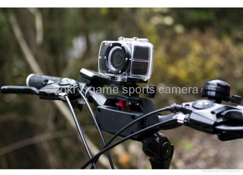 Gaoki 100% QC sport camera SHD22A 4