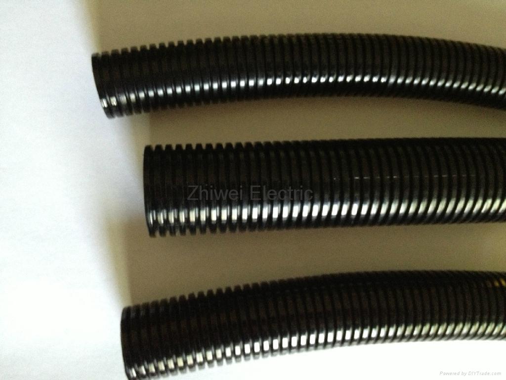 Flexible Corrugated Plastic Pipe : Plastic flexible corrugated hose pipe
