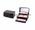 Black Matt Wooden Jewelry Box