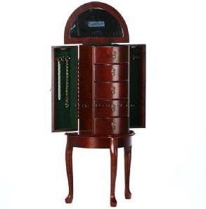Queen Victoria Cherry Jewelry Wooden  Box 1