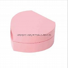 Pink Heart Wooden Jewelry Box