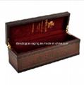 Vintage Luxury Wooden Wine Box Set