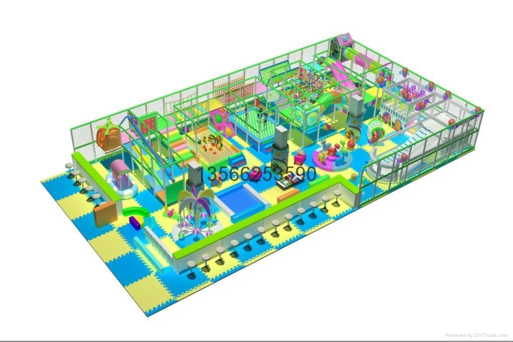 大型室内儿童乐园 1
