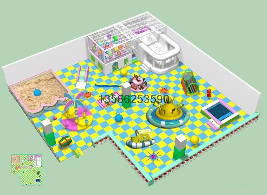 大型室内儿童乐园 2