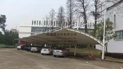 金华天禧膜结构遮阳自行车棚