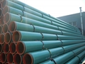 fusion bonded epoxy (FBE) coated steel pipe(High quality)