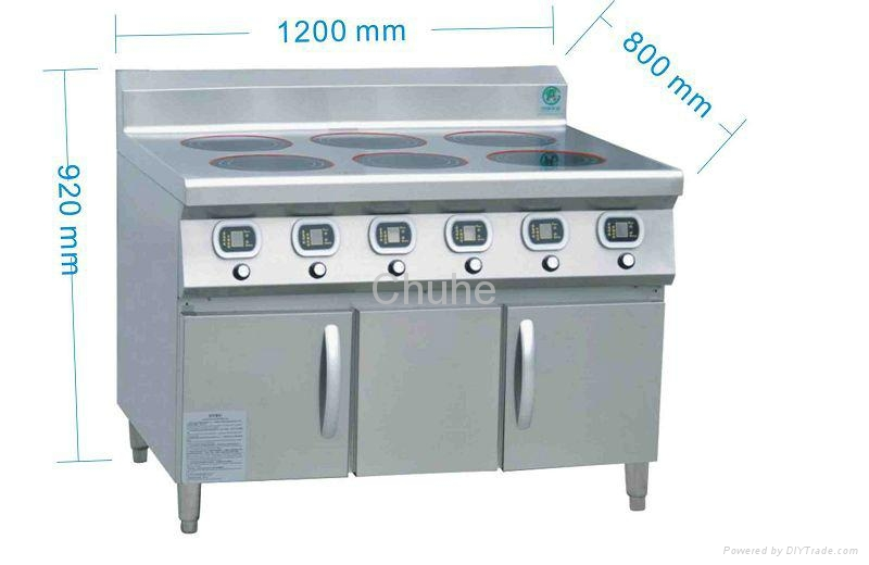 Commercial Induction Cooker ~ Commercial induction cooker range with burners ch