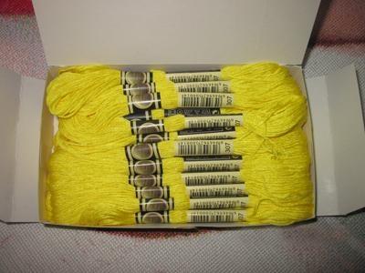 100% cotton dmc cross stitch thread 2
