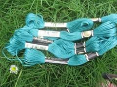 100% polyester cross stitch thread