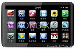 "5"" GPS Navigation with TV and Bluetooth"