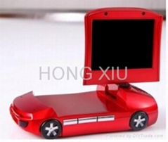 HD Car DVR with Night Vision Recorder 120 Degree View Angle