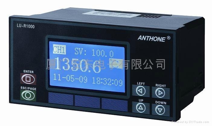 单色液晶显示控制无纸记录仪 1