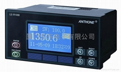 单色液晶显示控制无纸记录仪
