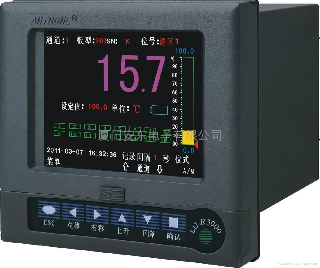 彩色液晶显示控制无纸记录仪 1