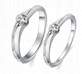 Engagement and wedding couple rings for beloved ones 2