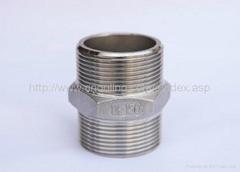 stainless steel hex.nipple